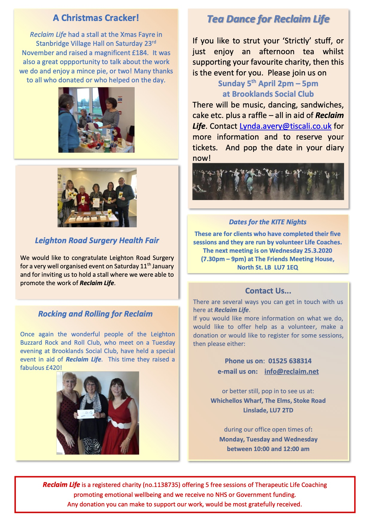 Newsletter January 2020 page 2